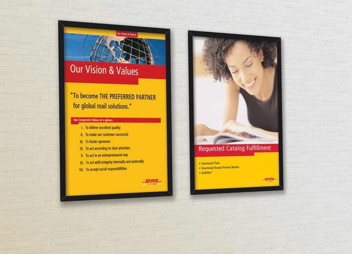 DHL Employees Posters