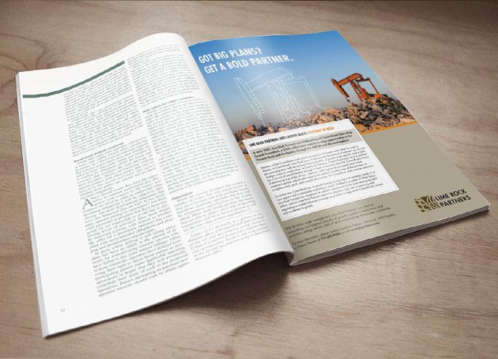 limerock partners magazine spread
