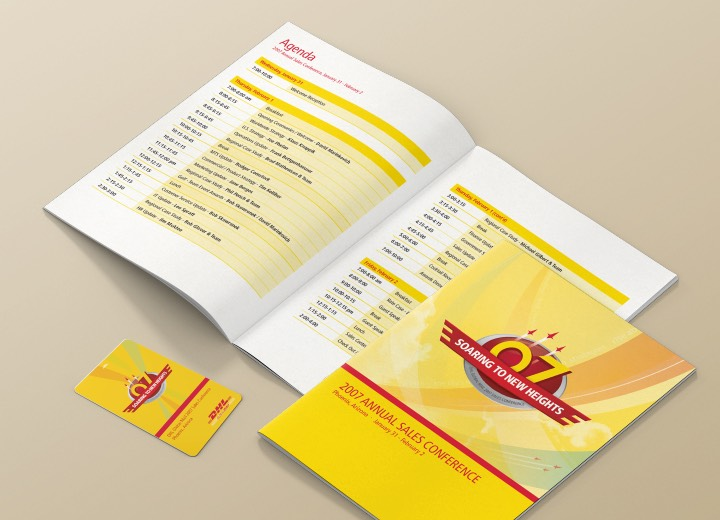 DHL Sales conference material