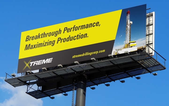 xtreme drilling billboard